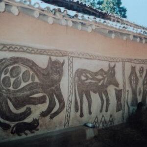 Bandhni Devi, Kurmi, village. Jorakath, Hazaribagh, Jharkhand. Img 1, 1993
