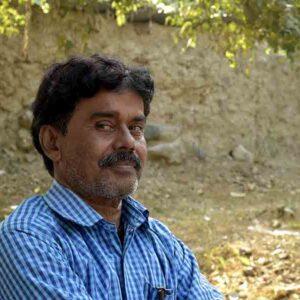 Ravindra Nath Gaur, Master Stone Carver and owner of Sangeeta Murti Kala.