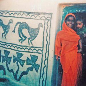 Mainwa Devi, Kurmi, vill. Jorakath, Jharkhand. Img 1, 1993