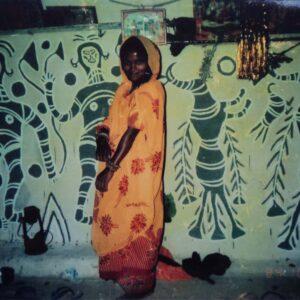 Rudhan Devi Kurmi, vill. Jorakath, Hazaribadh, Jharkhand. Img 1, 1994