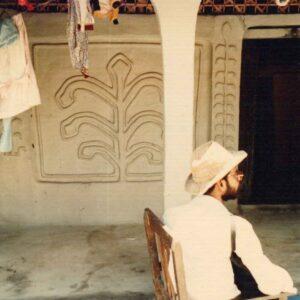 Muslim's house, Kajara Belwari, Uchchipur, Baisi, Purnea