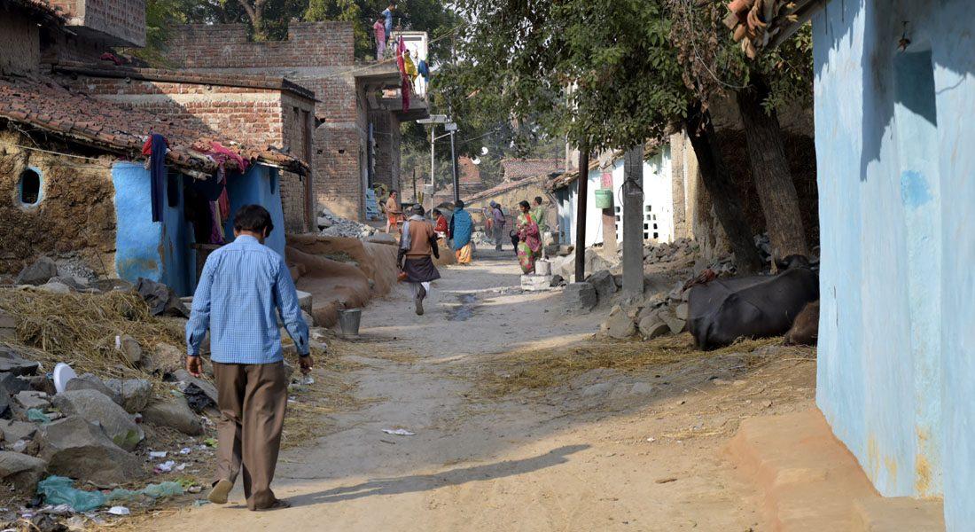 Gaur brahmins village in Patharkatti, Gaya, Bihar, 2018. Photo credit: Tanay Pathak
