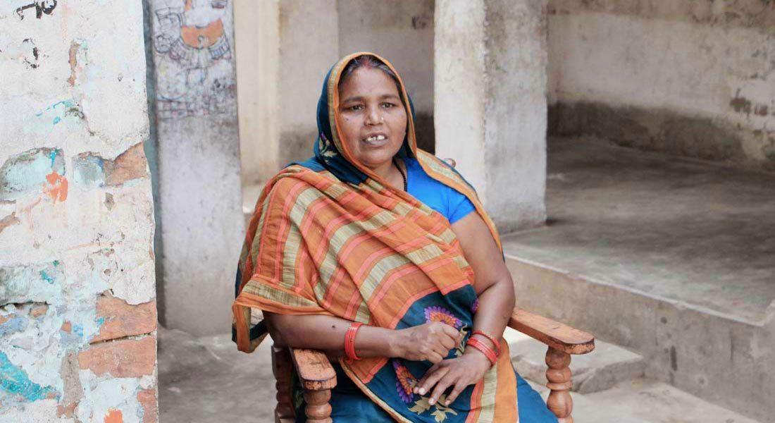Dulari Devi, Mithila artist, Ranti, Madhubani © Folkartopedia library