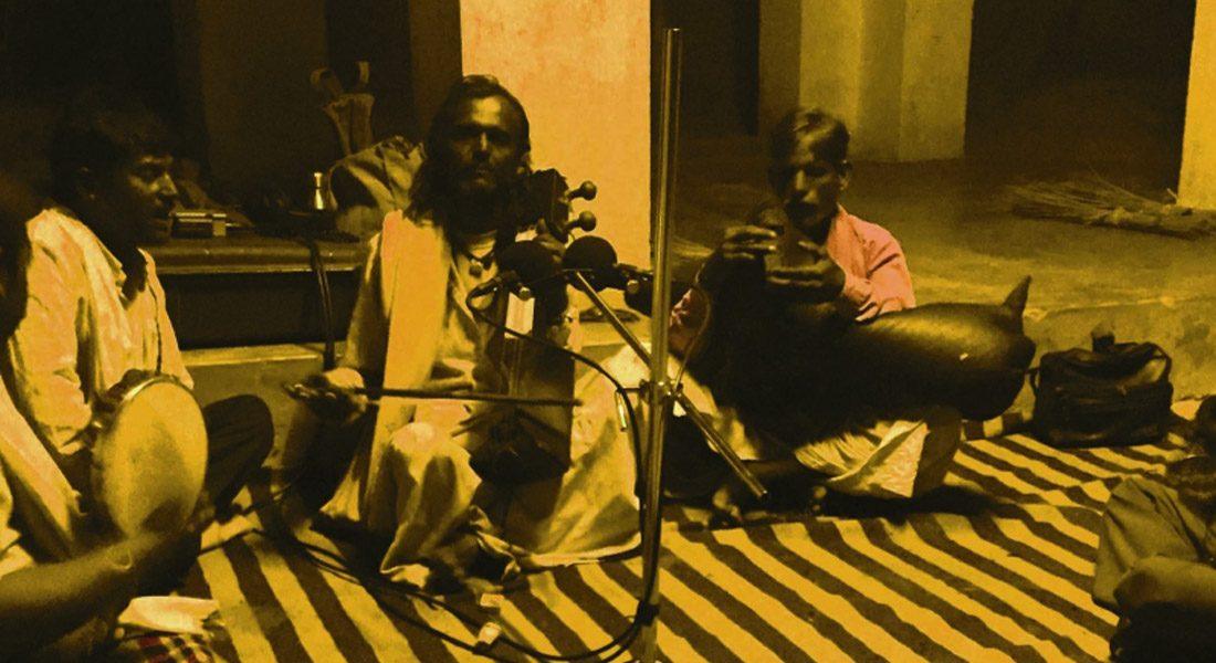 Folklore singer Antar Jogi, Banda village, Rajasthan, Credit: Dr. Madan Meena
