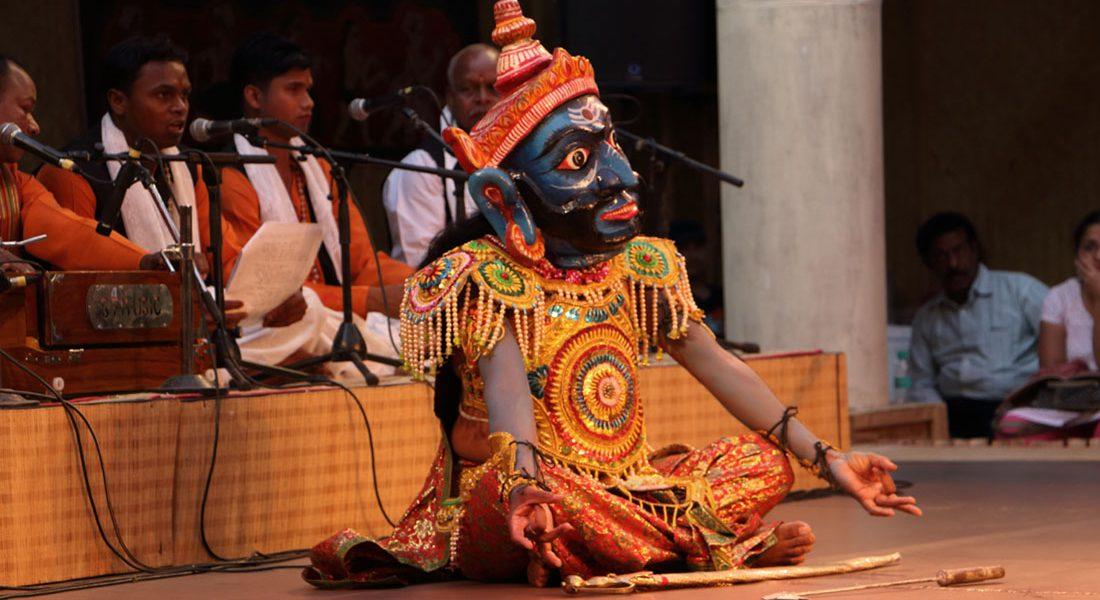 A scene from Odiya Ramayan, SNA, New Delhi, Sunil Kumar 2016