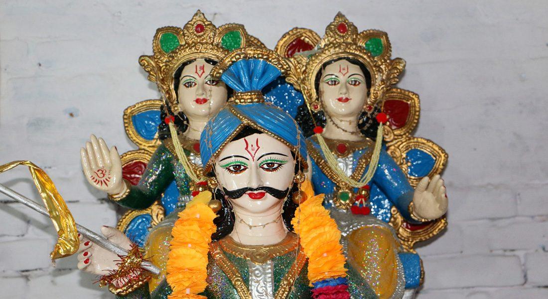 Shrine of Raja Salhesh, Chunabhatti, Darbhanga, Bihar © folkartopedia library