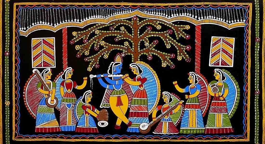 Tikuli art, Bihar. Artist: Unknown