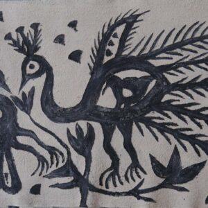 Khovar painting, Hazaribagh, Jharkhand. IMG 1