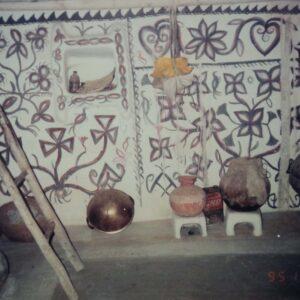 Sugiya Devi, Prajapati, vill. Kharati, Hazaribadh, Jharkhand. Img 4, 1994