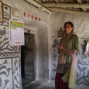 Sugiya Devi, Village - Kharati, Hazaribagh, Jharkhand. IMG 5