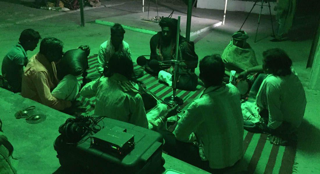 Jogi singers in Rajasthan. Image credit: Dr. Madan Meena, 1st published on Sahapedia website