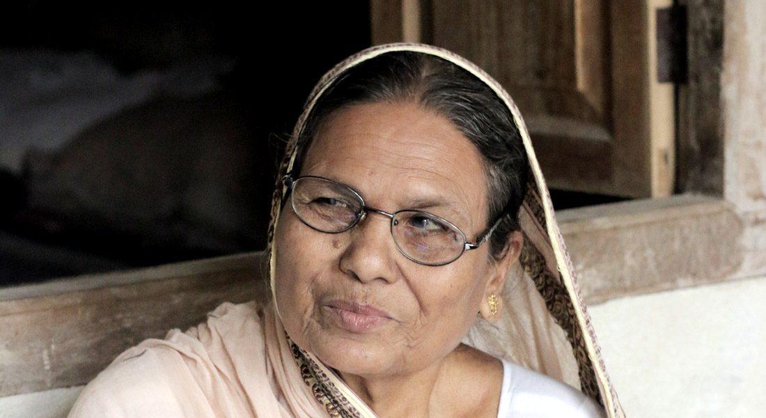Padma Shri Baua Devi, Mithila artist, Jitwarpur, Madhubani © folkartopedia library