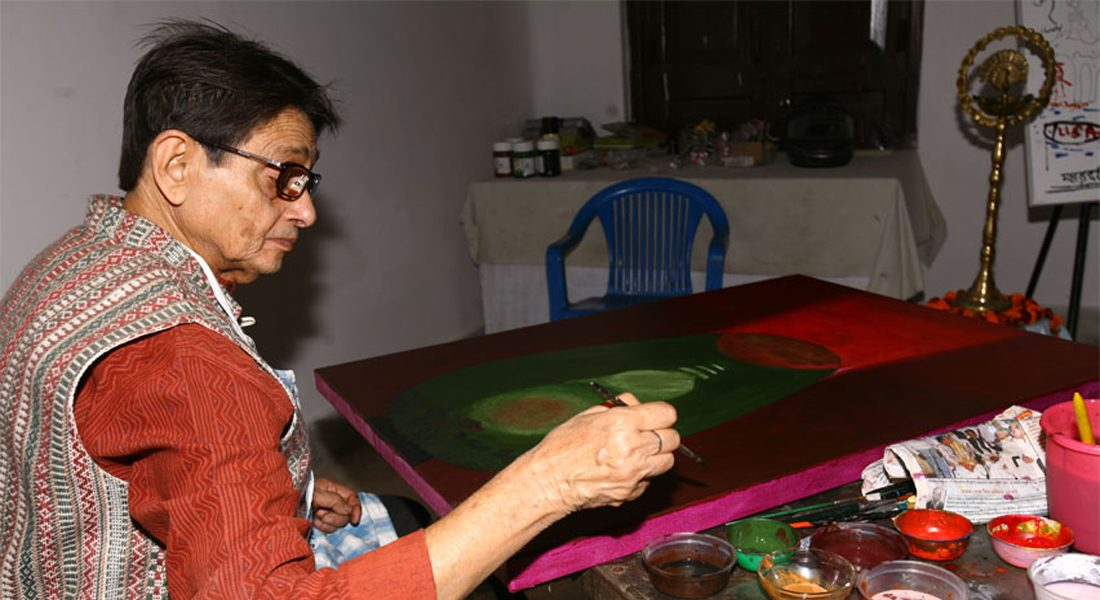 Bireswor Bhattacherjee, Senior artist, Kolkata