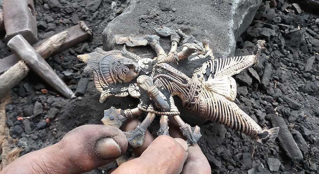 Dokra Craft, Metal Craft in Bihar Credit: Village Square