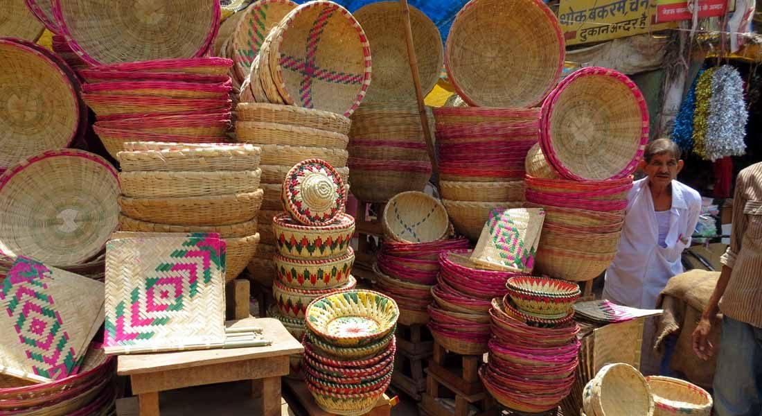 Moonj basketry of Allahabad, UP. Image courtesy: Yashaswini Singh
