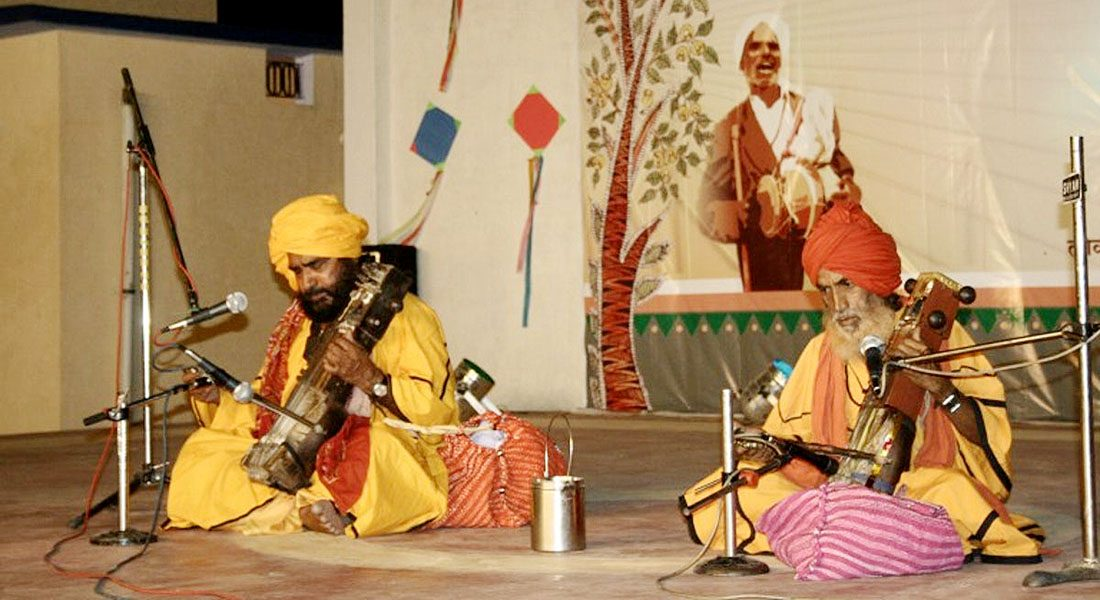 Folk singers, Raja Bharthari, Rajasthan. Credit: The Wire
